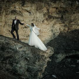 High by Vasiliu Leonard - Wedding Bride & Groom ( wedding photography, fotograf nunta iasi, wedding photographers, wedding, fotografii nunti, poze nunta iasi, nunta )