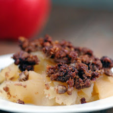 Gingerbread Apple Crisp