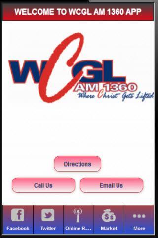 WCGL AM 1360 RADIO STATION