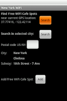 Screenshot of New York Free WiFi