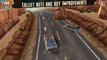 Screenshot of Mad Road Driver