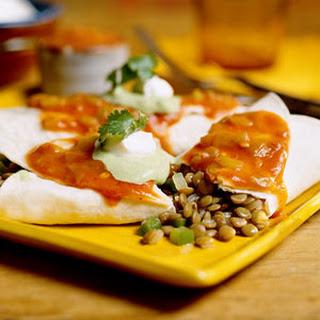 Vegetarian Lentil Burritos Recipes