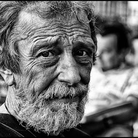 S by Etienne Chalmet - Black & White Portraits & People ( black and white, street, men, people, portrait,  )