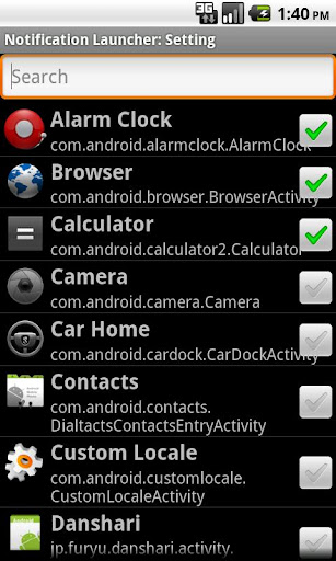 Notification Launcher Lite