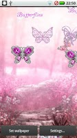 Screenshot of Diamond Pink Butterflies DEMO