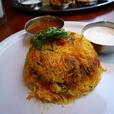 Pathani Chicken Biryani