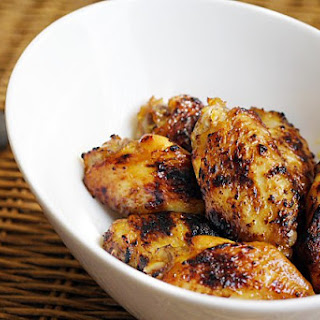 Honey Wings with Turmeric