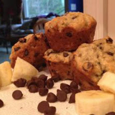 Miss Cindi's Banana-Chocolate Chip Muffins