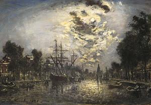 RIJKS: Johan Barthold Jongkind: painting 1881