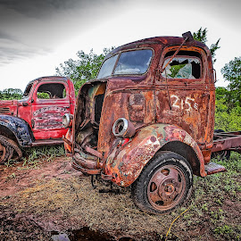 Old and in the way... by Ron Meyers - Transportation Automobiles