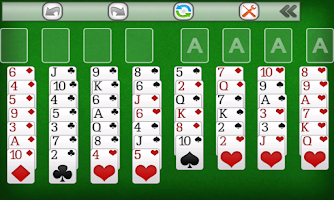 Screenshot of Freecell