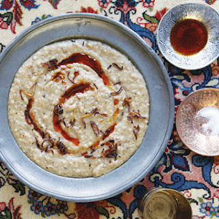 H'riss (Spiced Chicken and Wheat Porridge)