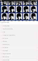Screenshot of The Beatles Lyrics