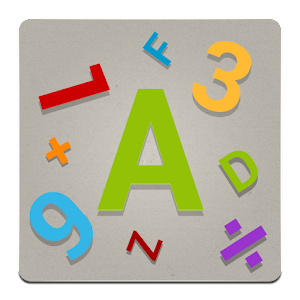 Words mix & Numbers Countdown Icon