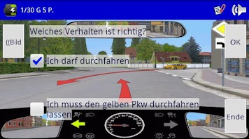 Screenshot of THEO-Führerscheintrainer
