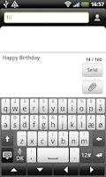 Screenshot of SMS Signature Pro