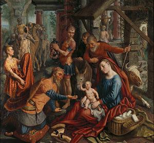 RIJKS: Pieter Aertsen: The Adoration of the Magi 1560