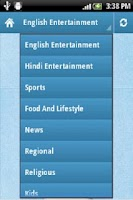 Screenshot of TV Guide for India