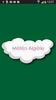 Screenshot of Météo Algérie