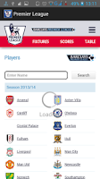 Screenshot of Premier League