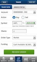 Screenshot of ShareBuilder Mobile