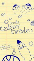 Screenshot of Doodle Galaxy Invaders