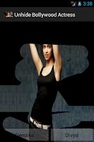Screenshot of Unhide Bollywood Actress