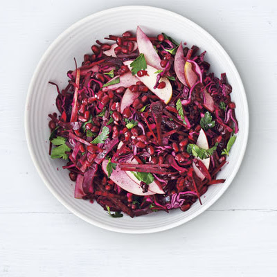Red Cabbage, Beetroot & Apple Salad