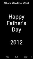 Screenshot of Father's Day 2012