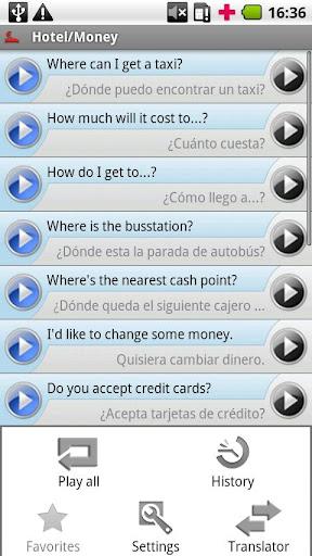 【免費旅遊App】iSayHello 英语 - 西班牙语-APP點子