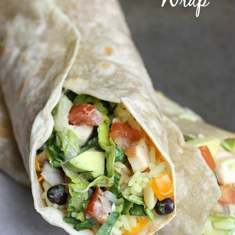 Chipotle Chicken Wraps