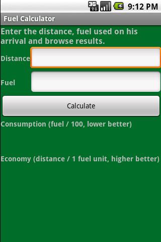 Fuel Calculator