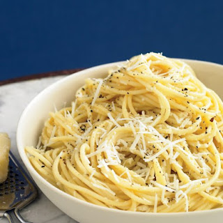 Spaghetti with Pecorino and Black Pepper