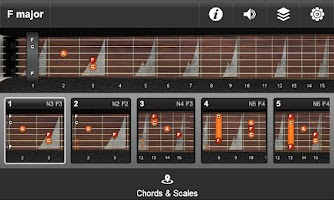 Screenshot of JamBox Pro Chords & Scales