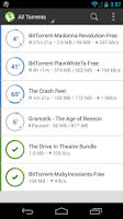 Screenshot of µTorrent®- Torrent Downloader