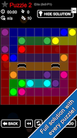 Screenshot of Link Cross -puzzle game