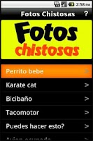 Screenshot of Fotos Chistosas