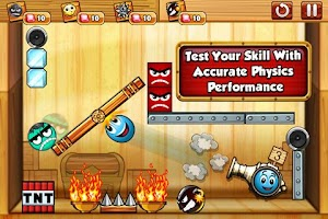 Screenshot of Tiny Ball vs Evil Devil 2