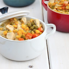 Chicken Pot Pie, Rustic Style