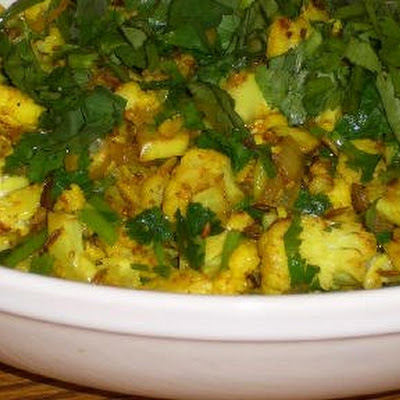 Curried Sauteed Cauliflower