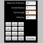 Bend Allowance Calculator icon