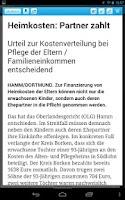 Screenshot of Dorstener Zeitung eZeitung