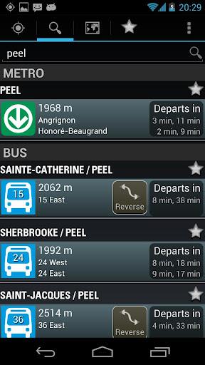 Montreal Metro Bus