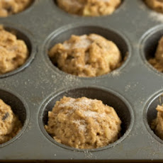 Whole Grain Sour Cream Apple Muffins