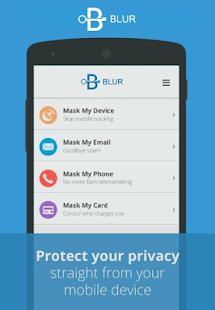 Blur=Passwords+Wallet+Privacy Screenshot