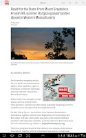 Screenshot of MassLive.com