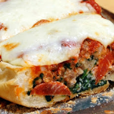 Meaty French Bread Pizza