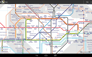 Screenshot of London Tube Master