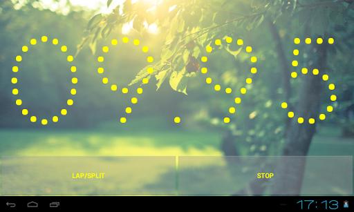 Simple Stopwatch Pro - screenshot