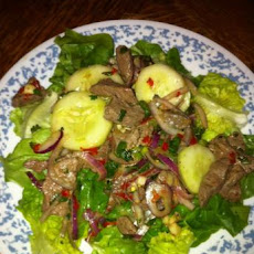 Taste of Thai Beef Salad - Yam Nuea